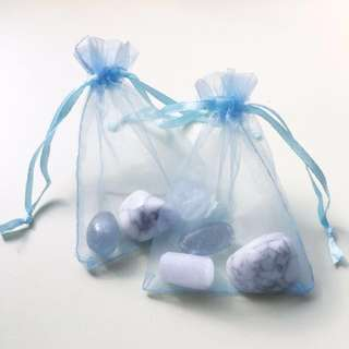 Sweet Dreams Bag (Howlite, Celestite, Selenite)