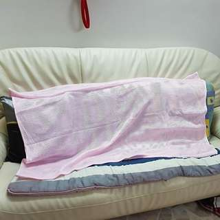 Pink Sarong for Baby Swing