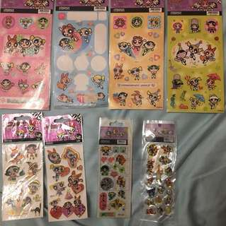 Powerpuff Girls stickers