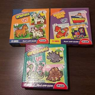 Puzzles & Matching Games for 3yo+