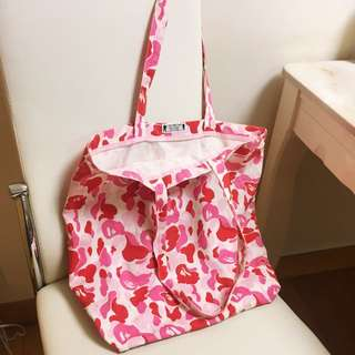 Limited Edition Bathing Ape Tote Bag 絕版BAPE布袋
