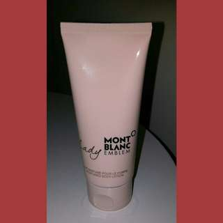 Mont Blanc Lady Emblem body lotion