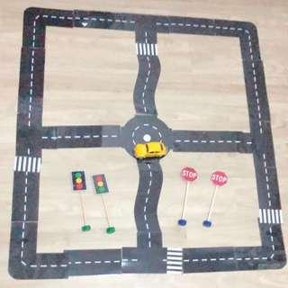 Diy Laminated roads