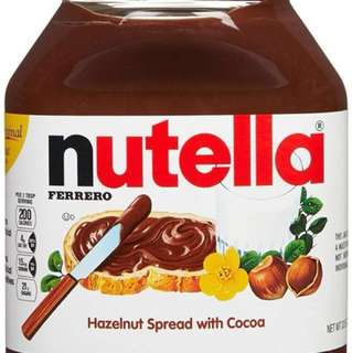 Nutella, Hazelnut Spread with Cocoa - 33.5 Ounce Jar(950g)