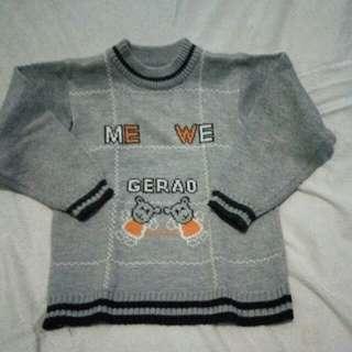 #ImlekHoki Sweater anak