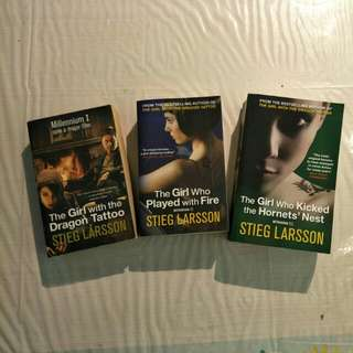 The Girl with the Dragon Tattoo - Trilogy