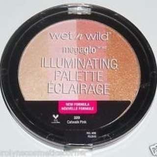 Wet n Wild Illuminating Palette - Catwalk Pink