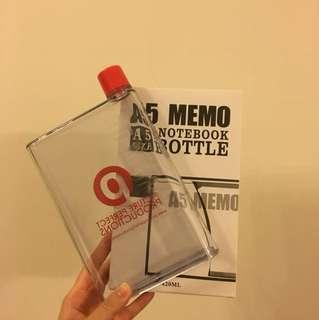 A5 notebook water bottle 420ml
