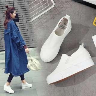 Korean shoes hidden wedge