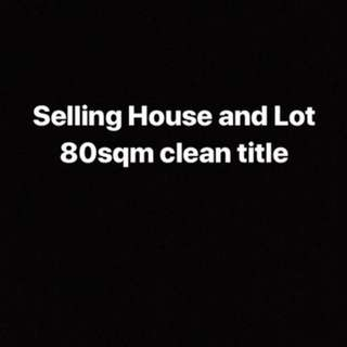 House and Lot 4 sale!!