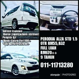 Perodua Alza std 1.5 Full Loan