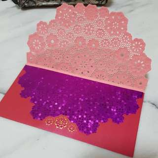 5 pcs premium red packets