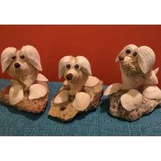 YEAR OF THE DOG - GOOD LUCK CHARM - Seashell Art