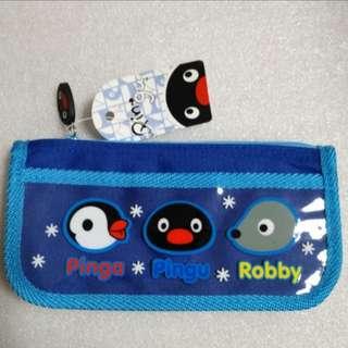 Pingu 尼龍 筆袋 拉鏈袋