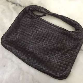 Bottega Veneta Brown Small Hobo Bag