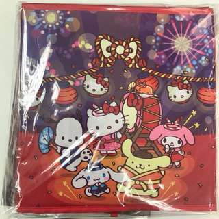 U Magazine 連Sanrio 賀新貯物箱  pompompurin hello kitty melody
