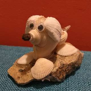 Seashell Art - Doggy - CHINESE NEW YEAR GOOD LUCK CHARM
