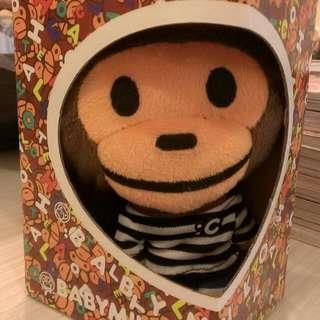 🚚 全新商品  站立猴子零錢包(附盒子)