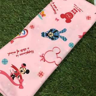 Mickey, Minnie, Pooh, beansprout husk casing, pillow case, bolster case, cushion cover
