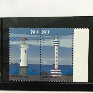 #櫃桶底收藏# #中國郵票# 2006-12 現代燈塔 Complimentary Postage