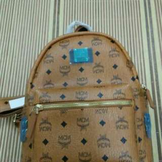 MCM Backpack small Ready stok