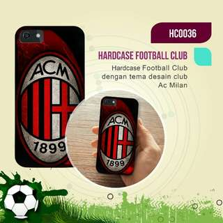 Premium AC Milan Hardcase/Softcase (Bs Request Design)