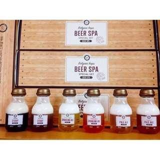 Happy Bath Belgian Hops Beer Spa special mini set