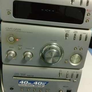 Sony Hifi audio CD MP3