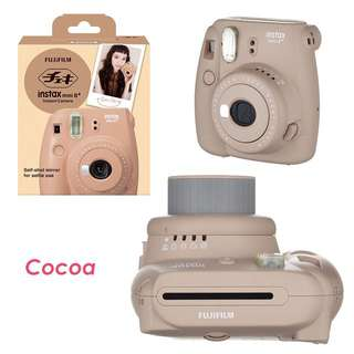 Fujifilm instax mini 8+ cocoa color