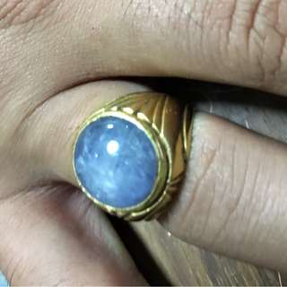 916 Gold Ring with Star Sapphire
