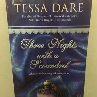 Tessa Dare Three Knights with Fcoundrel