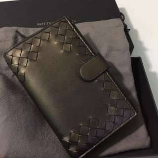 New! Authentic Bottega Veneta Intrecciato Nappa Continental Wallet