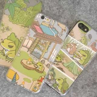 Iphone 旅行青蛙手機殼