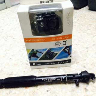 Actioncamera waterproof