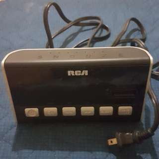 RCA Dual Clock AM/FM Radio
