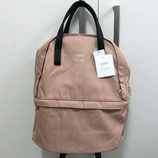 *New*Anello pink layered backpack