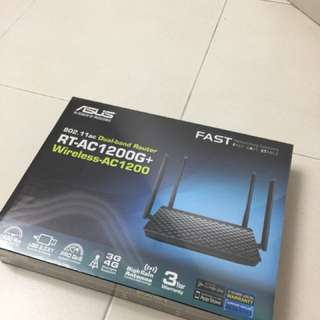 802.11ac Dual band Router RT-AC1200G+ wireless AC1200