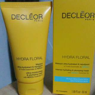 Decleor Hydra Flora Intense Hydrating & Plumping Mask