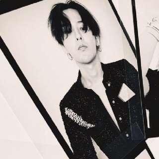 G-Dragon x Mademoiselle Privé 香港站海報(兩張) CHANEL BIG BANG