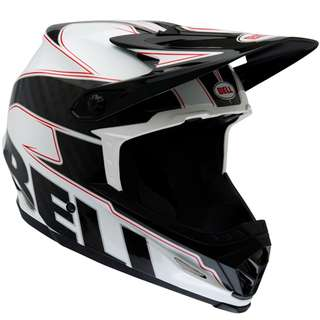 Bell Full 9 Full-9 Full Face Carbon Emblem Motorbike Motorcycle Off Road Off-Road Mountain Bike Motocross Helmet -Scooter E Scooter Electric Scooter Helmet