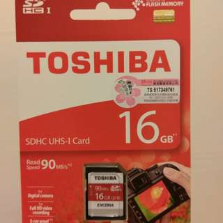 Toshiba 16gb sd card