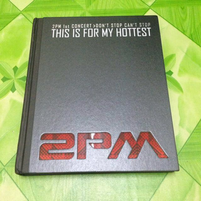 2PM 1st CONCERT DON'T STOP CAN'T STOP PHOTOBOOK
