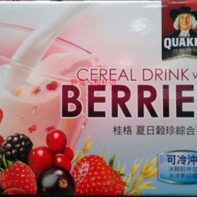 桂格桂格夏日穀珍綜合莓果