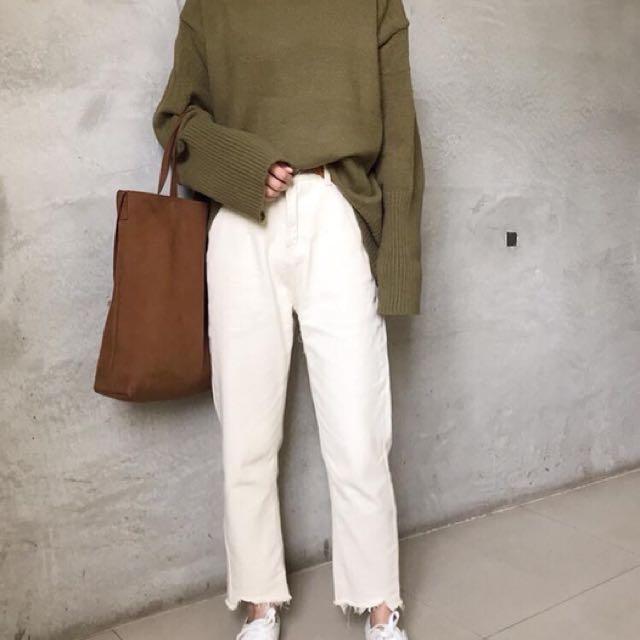 韓版立領毛衣