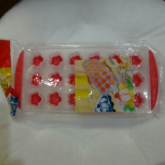 矽膠製冰盒 梅花形狀製冰器