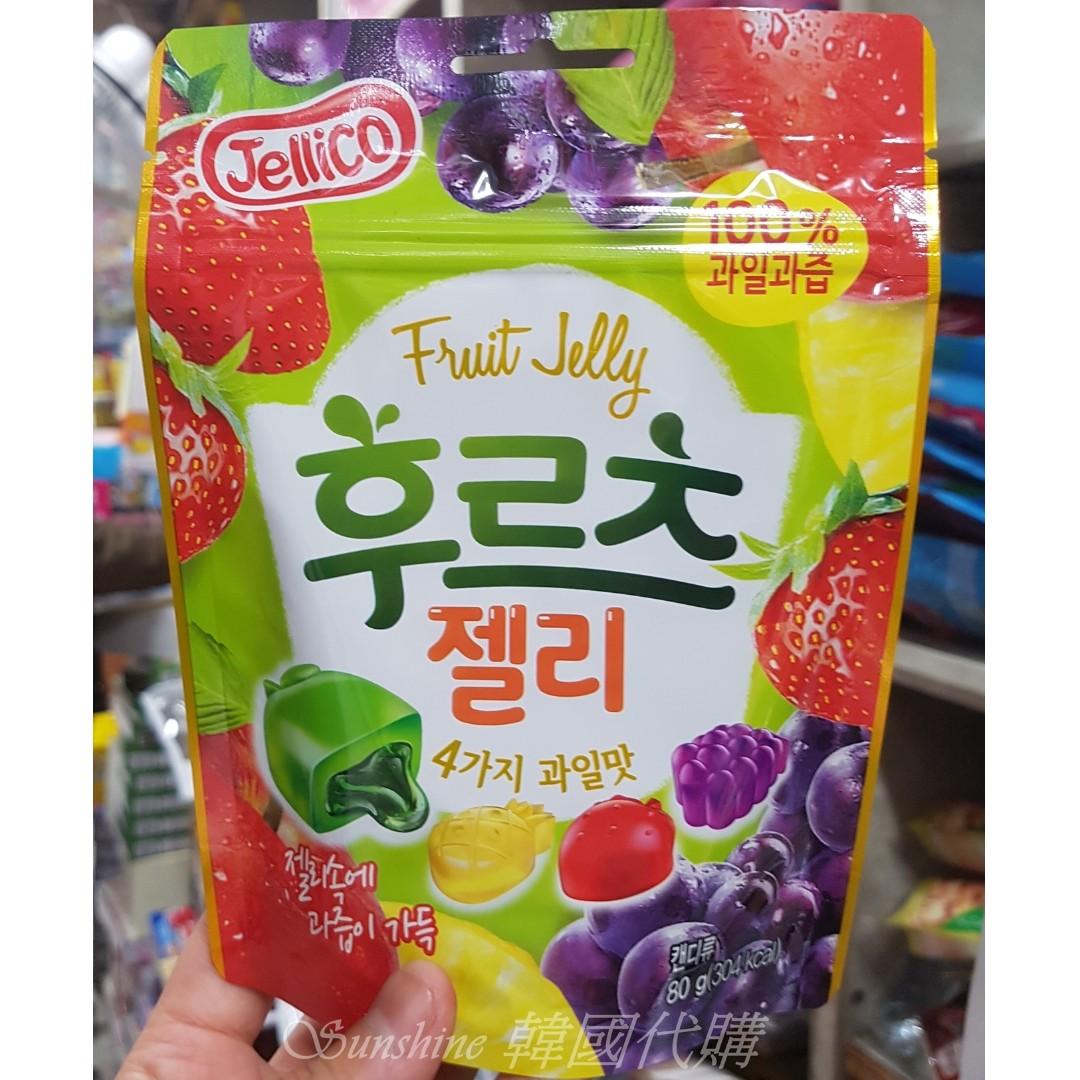現貨  韓國食品 Jellico 100% 綜合果汁  軟糖