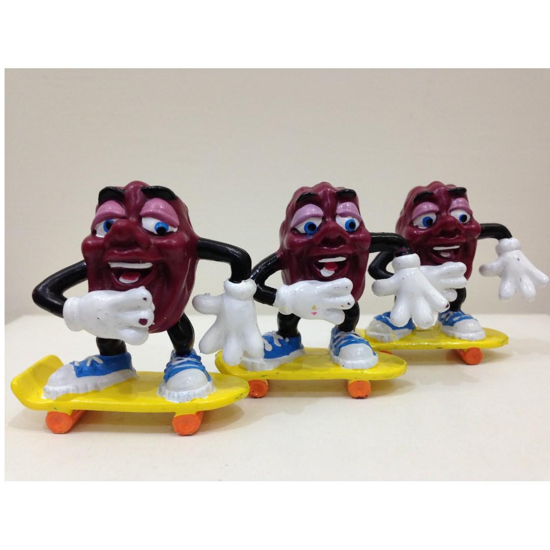 [滑板一哥] 葡萄乾人、加州葡萄乾人、葡萄乾先生、California Raisins、加州葡萄乾、葡萄乾樂團