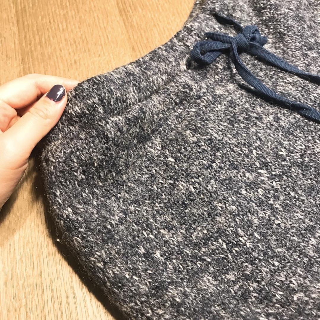 冬季必備 Tasse Tasse日系混色毛線褲 居家褲
