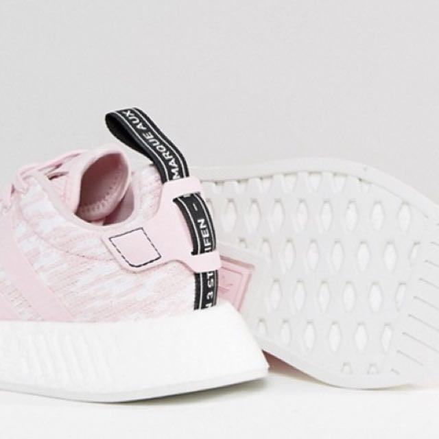 Adidas NMD R2 W in Wonder Pink