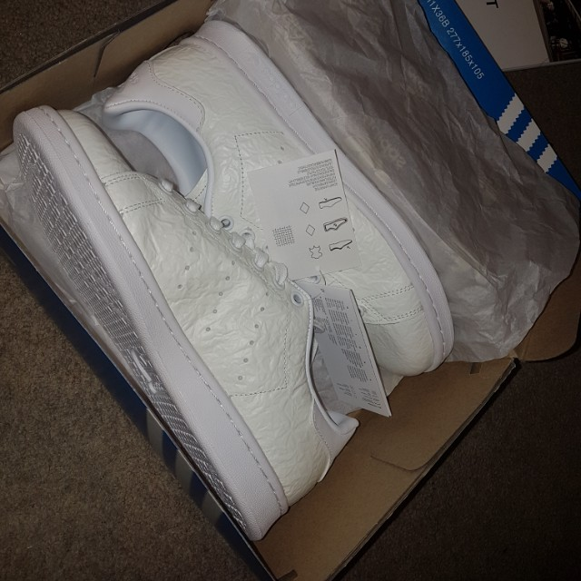 Adidas originals stan smith off white sneakers